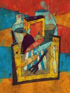 Picknick with fishes - Joost Hogervorst