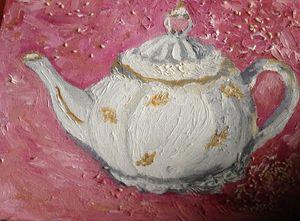 Berry teapot