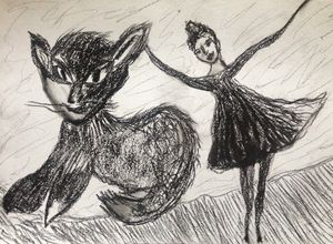 the Cat and Ballerina