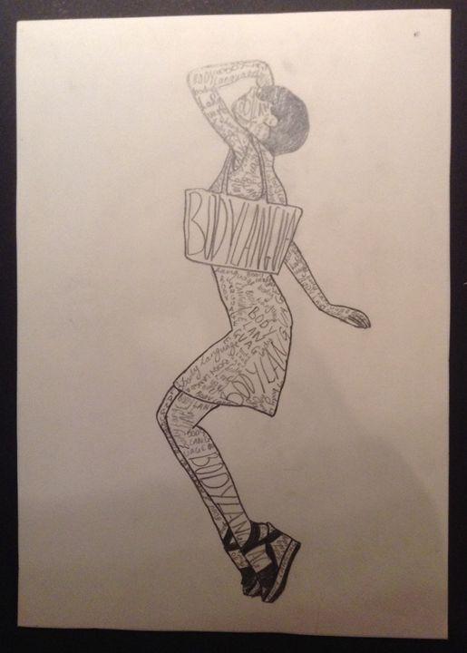 Body language #1 - Anna Daraklitsas