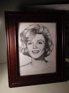 Marilyn Monroe. portrait