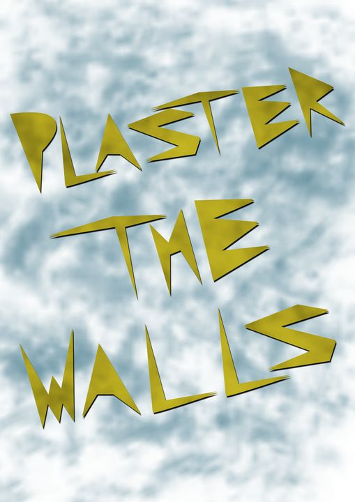 Plaster The Walls ¦ Cloud Gold - altArts