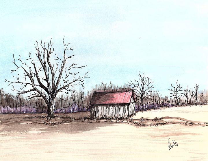Forgotten Shelter - Nancy Austin Art