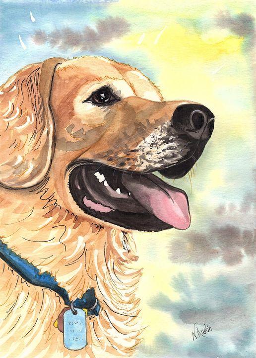 Good Boy Sam - Nancy Austin Art