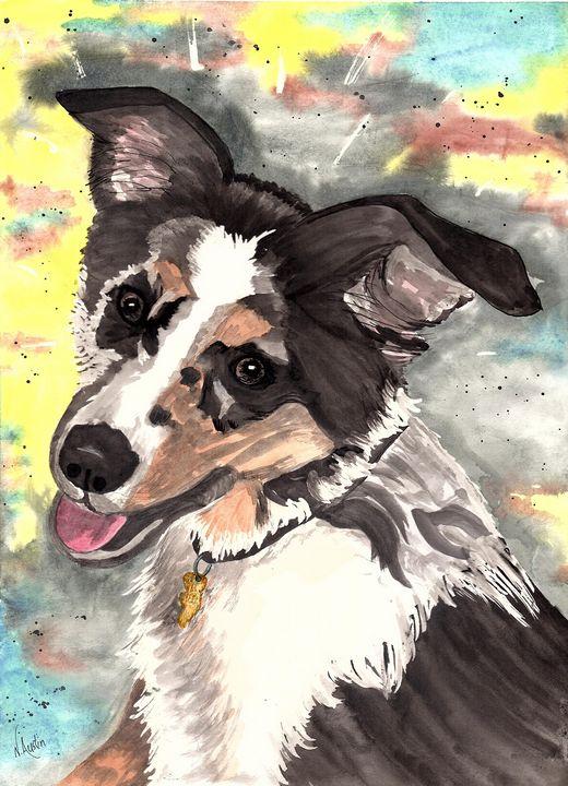 Gunner - Nancy Austin Art