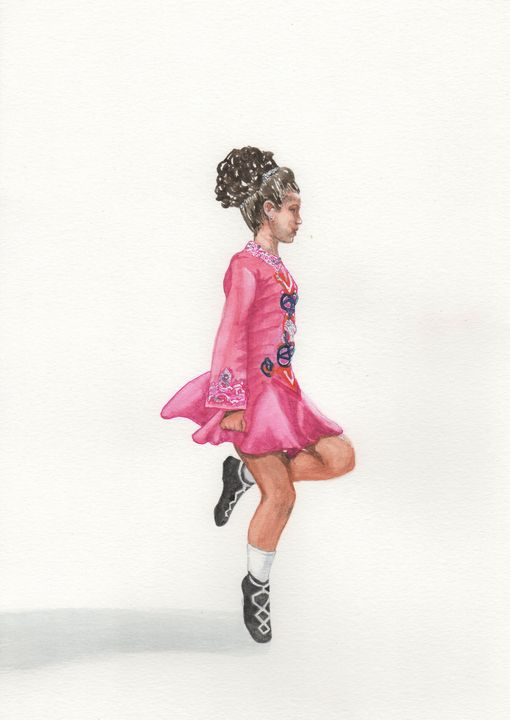 Irish Dancer - Nancy Austin Art