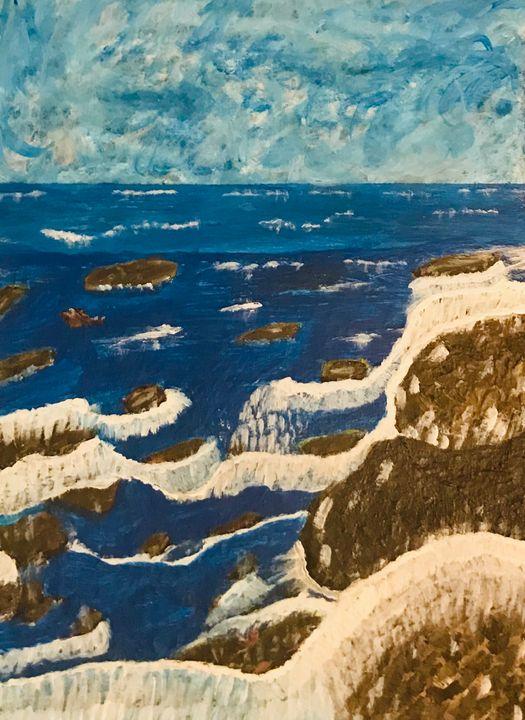 Hollywood sea - Martha Parmar Art