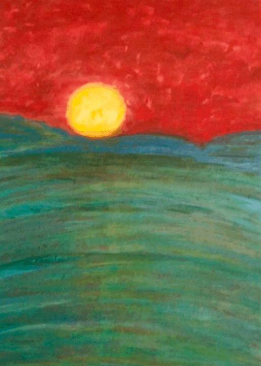 Sunset - Martha Parmar Art