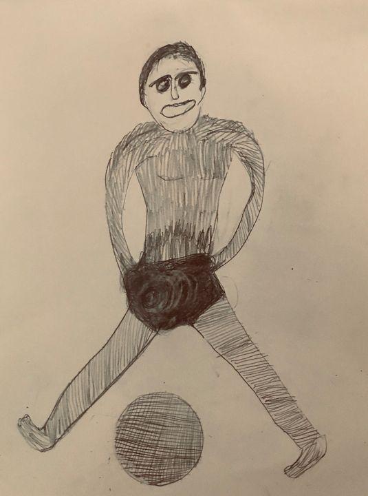 #Soccer - Martha Parmar Art