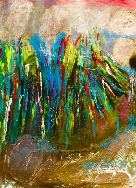 #Bushes - Martha Parmar Art