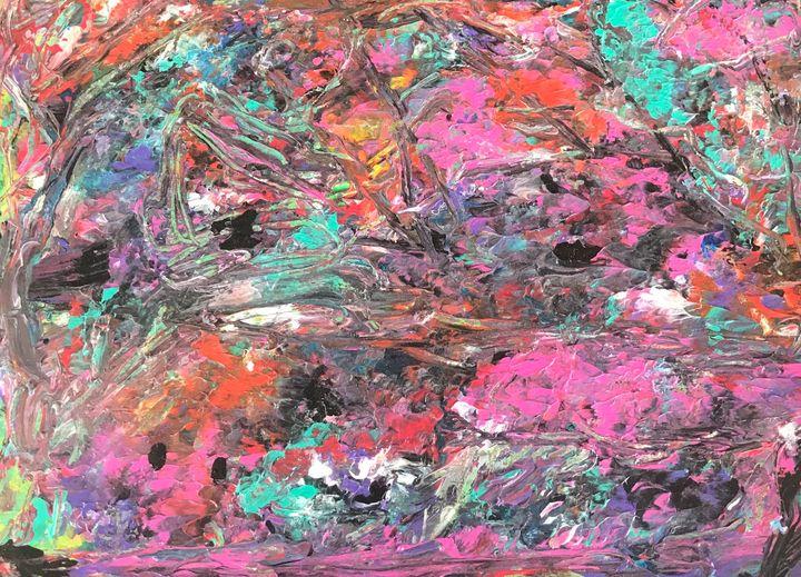 #DRIPPING#5 - Martha Parmar Art