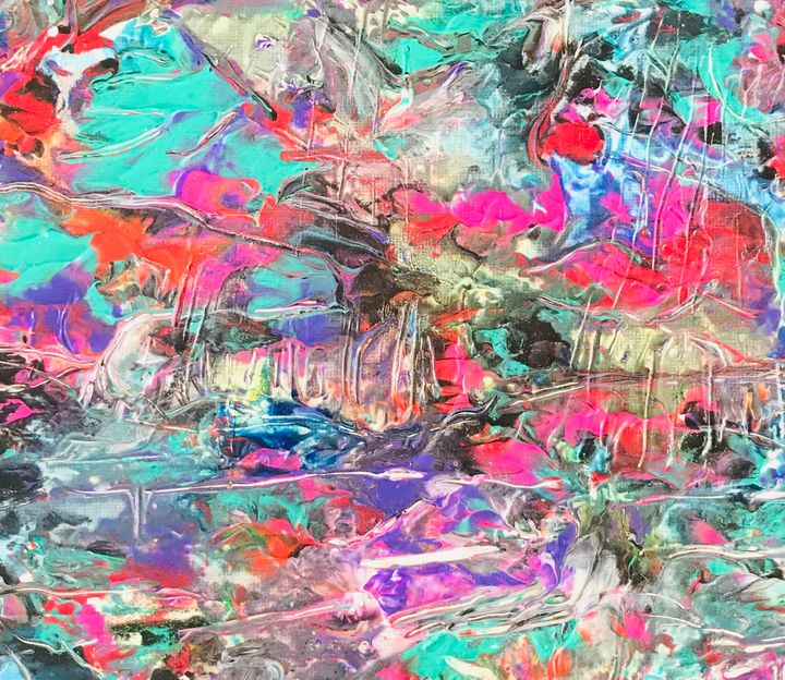 #DRIPPING#1 - Martha Parmar Art