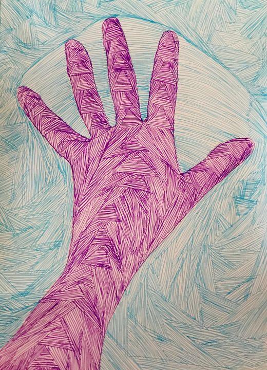 #Hand - Martha Parmar Art