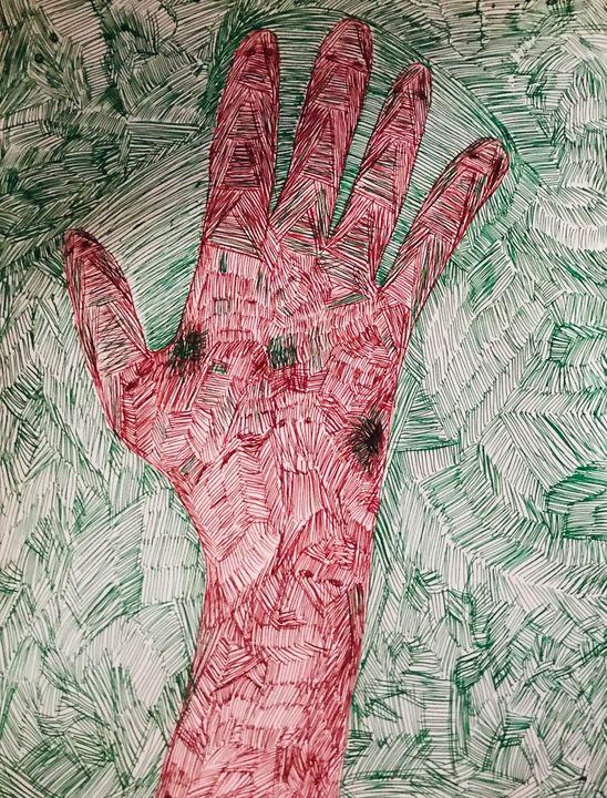 #Scars - Martha Parmar Art