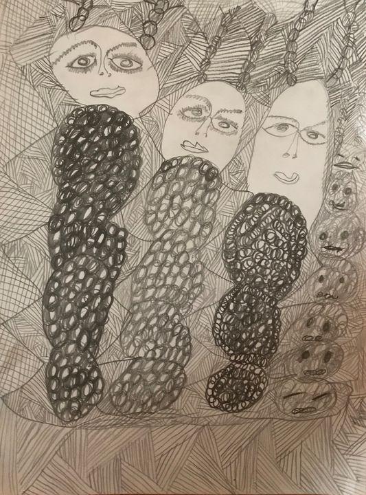 #EYES - Martha Parmar Art