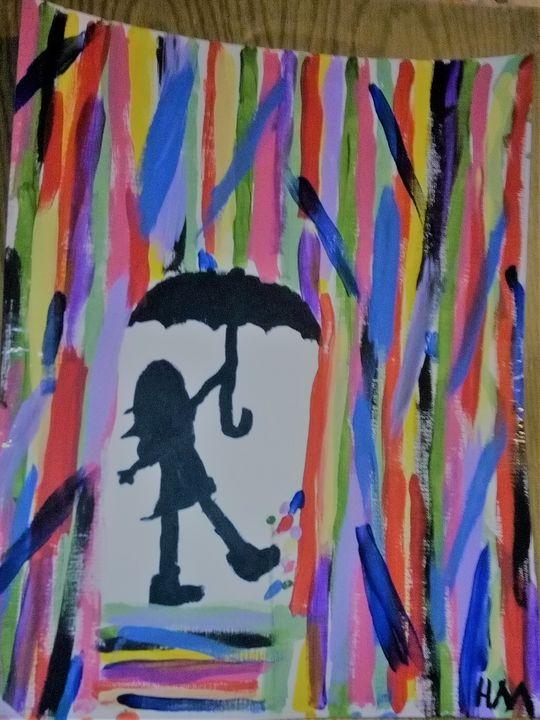 Dancing in the Rain - The Artist Hideaway