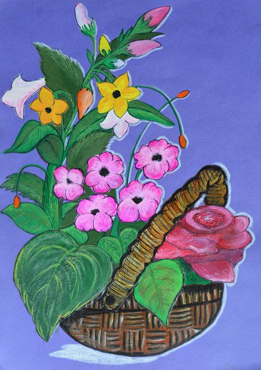 Nature's basket - anjali's art