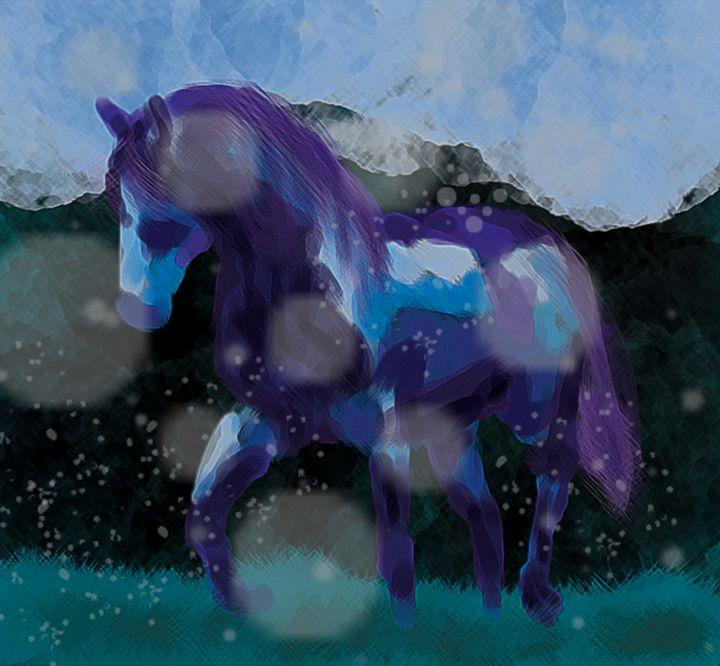 Through the Cold - Sage Oelke's Artwork