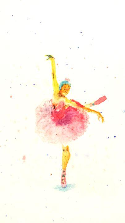 Ballerina - Sage Oelke's Artwork