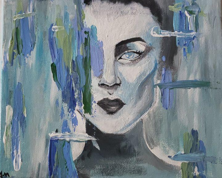 All I see is blue - Adrienne Mercer