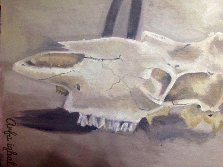 Skull - Arfa's art