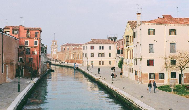 Venice approaching Arsenal - Robin Jessup