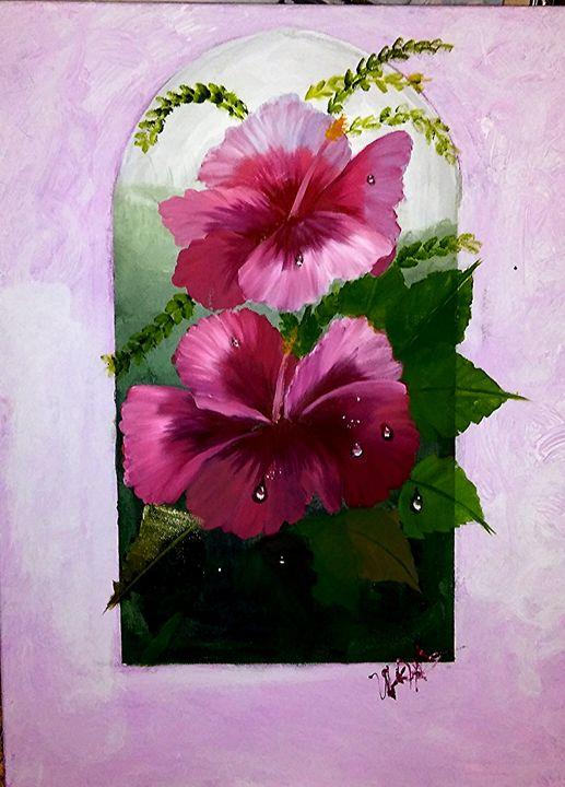 """""""Rain Kissed Petals"""" - U'D Love My Art"""