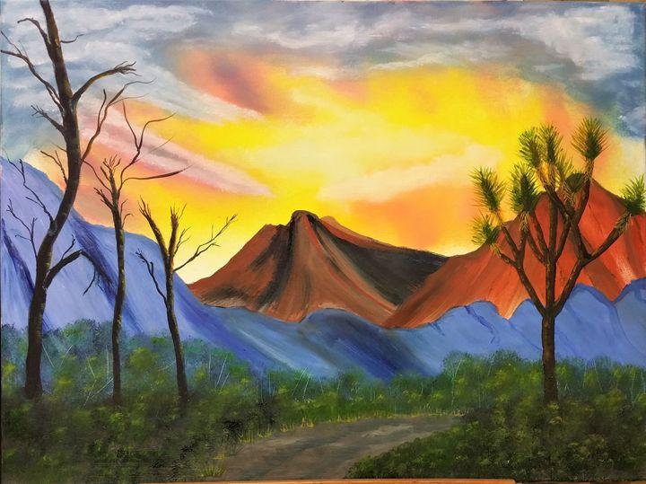 Joshua tree - Paint by Vlad