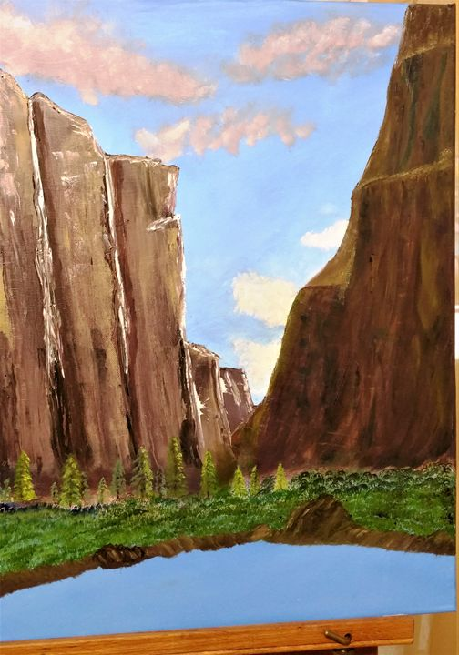 Canyon lake - Paint by Vlad