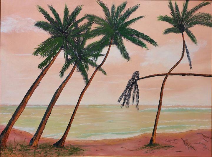 Beach palms - Paint by Vlad