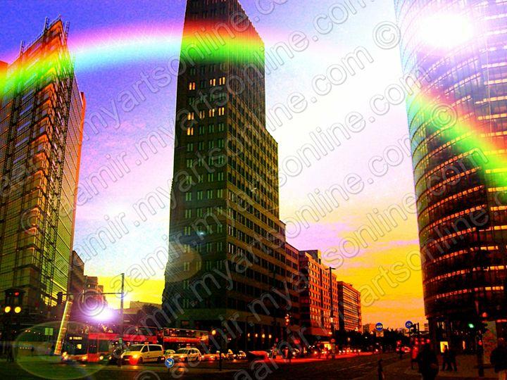 Potsdamer Platz. Berlin City - Aamir Show