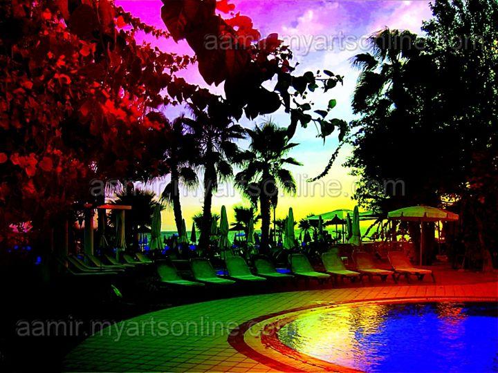 Cyprus Sunset - Aamir Show