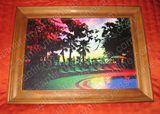 8.27 x 11.69 in Canvas Artwork