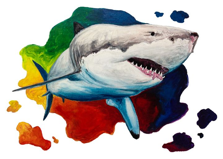 Great White Shark - KCK Artworks