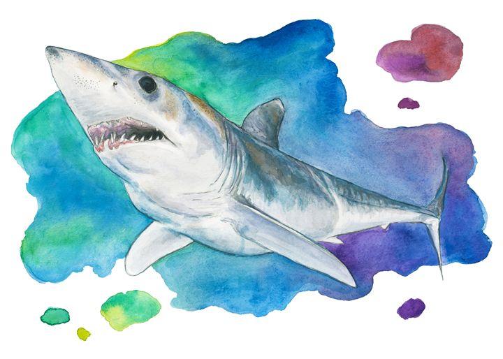 Mako Shark - KCK Artworks