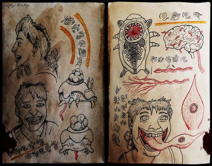 SteveCosmicHorrorBook Mindless - CraftyArts
