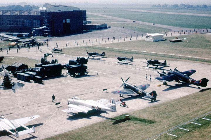 50 YEAR OF THE RAF - MILITARY PHOTO PRINTS  UK