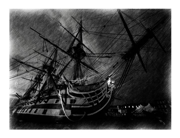 HMS VICTORY - MILITARY PHOTO PRINTS  UK