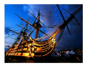 HMS Victory - MILITARY PHOTO PRINTS  UK