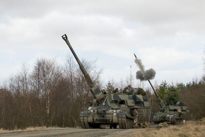 Armoured,Self Propelled Gun - MILITARY PHOTO PRINTS  UK
