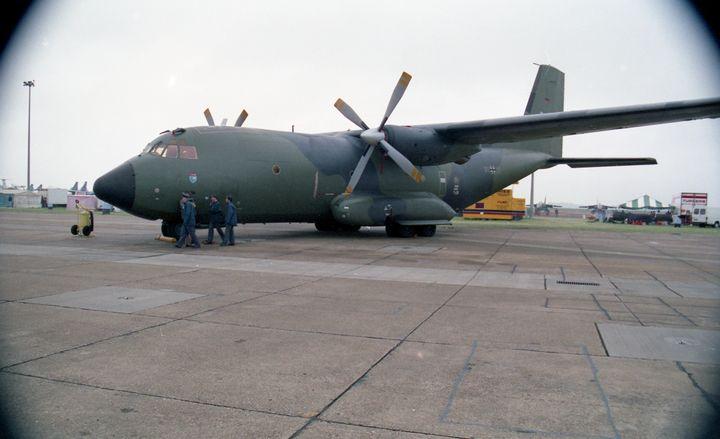 Transall C-160D - MILITARY PHOTO PRINTS  UK
