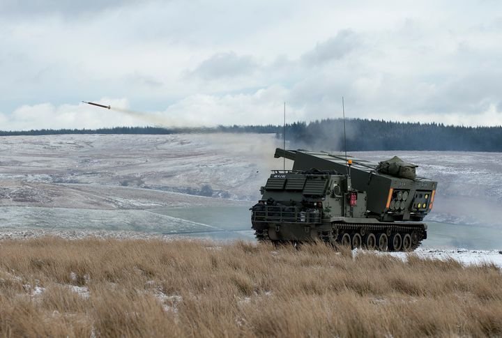 Guided Multiple Launch Rocket System - MILITARY PHOTO PRINTS  UK