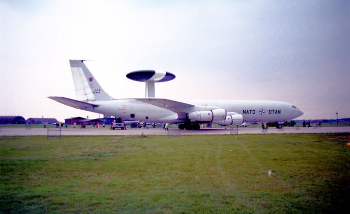 Boeing E-3D Sentry AEW1 - MILITARY PHOTO PRINTS  UK