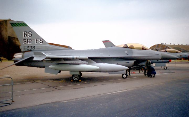512th Tactical Fighter Squadron  F16 - MILITARY PHOTO PRINTS  UK