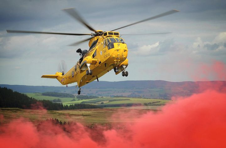 RAF Sea King - MILITARY PHOTO PRINTS  UK