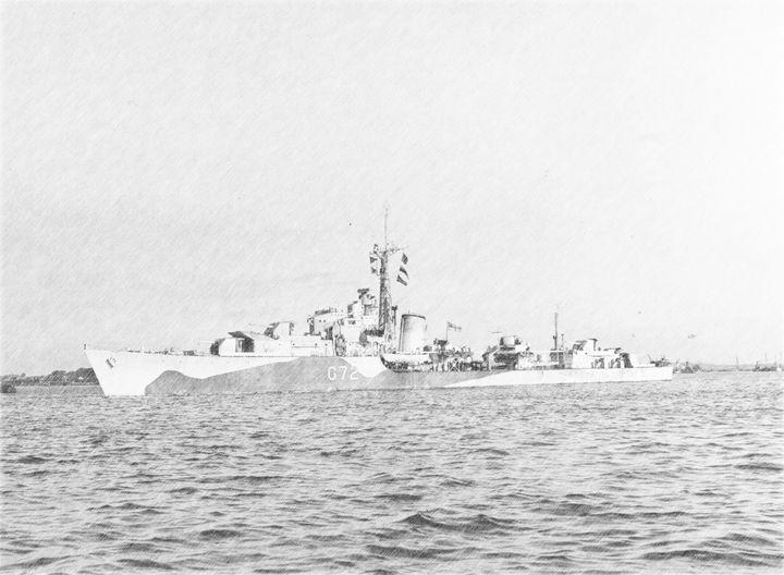 HMS SCORPION - MILITARY PHOTO PRINTS  UK