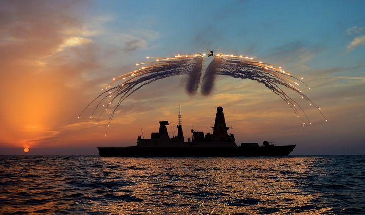 HMS Dragon - MILITARY PHOTO PRINTS  UK
