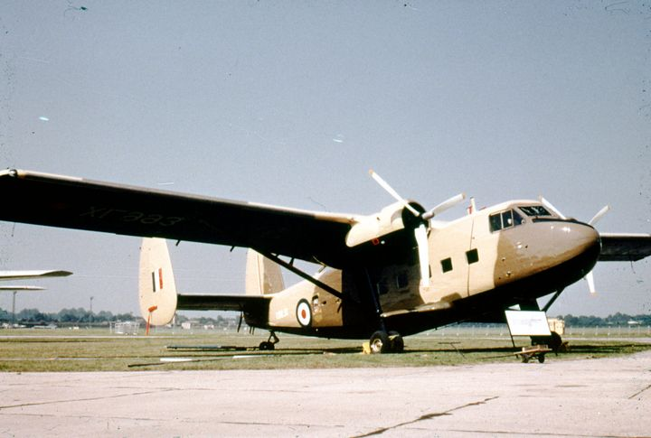Scottish Aviation Twin Pioneer - MILITARY PHOTO PRINTS  UK