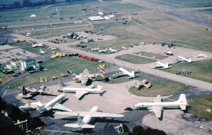 RAF 50TH ANNIVERSARY - MILITARY PHOTO PRINTS  UK