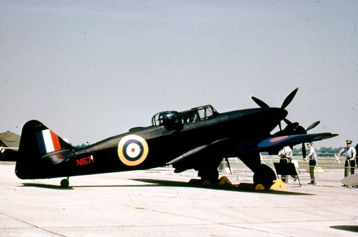 Boulton Paul Defiant. - MILITARY PHOTO PRINTS  UK